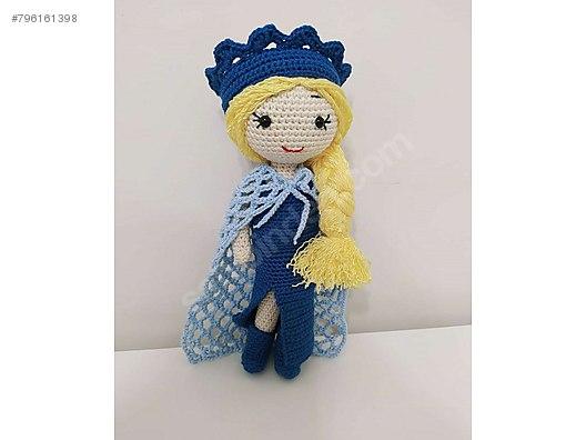 Amigurumi Prenses Elsa Yapımı - Amigurumi Tariflerim   396x528