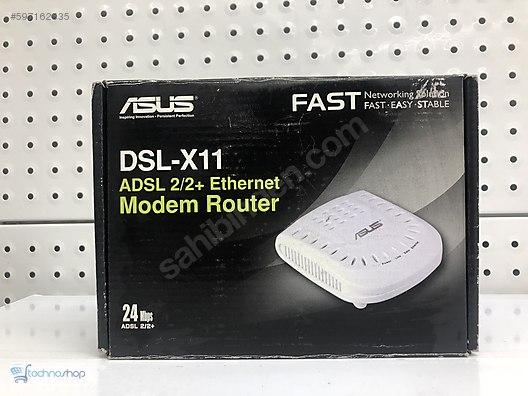 Asus DSL-X11 Ethernet Modem Router Last