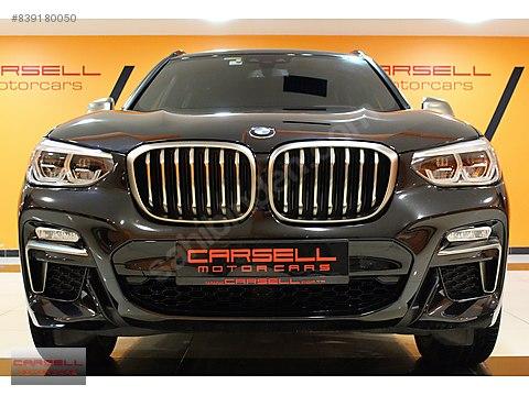 CARSELL BORUSAN ÇIKIŞLI 2018 BMW X3 M40 İ 3.0 360...