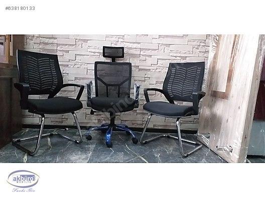 Sitting Group Office Sofa Set Buro Ofis Yonetici Koltuklari Leon