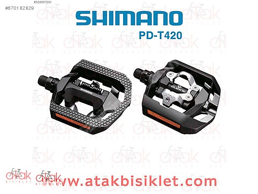 2cd961c6aec Shimano PD-T421 SPD CLICK R Pedal Siyah SM-SH56 at sahibinden.com ...