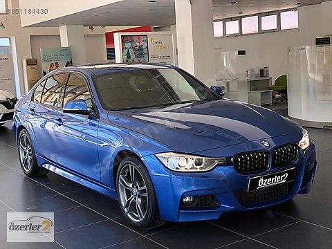 2014 BMW 320d M SPORT 98.000 KM ESTORIL MAVİ F1+HIZ...
