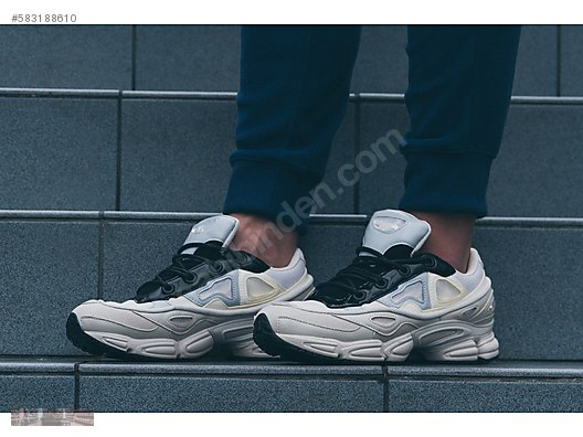 4b564494b0ff Athletic   Outdoor   ADIDAS X RAF SIMONS OZWEEGO III CREAM ...