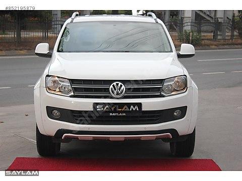 SAYLAM 2014 VW AMAROK 2.0BITDI CANYON-DSG-180HP-SERVİS...