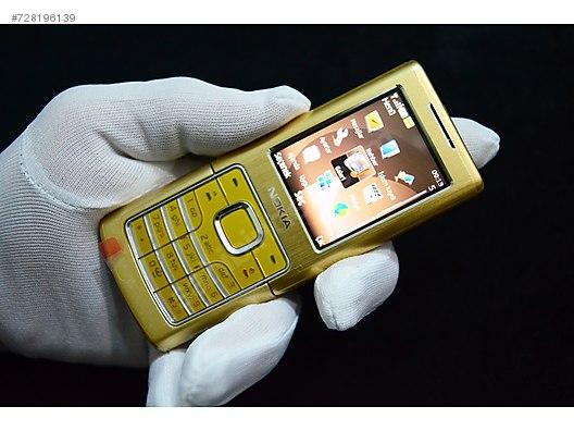 comda Sahibinden Nokia Gold Classic 6500