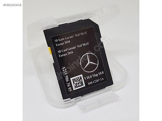 garmin kart europa Navigation Devices / Garmin / Mercedes GARMIN V10 SD KART W205 C  garmin kart europa