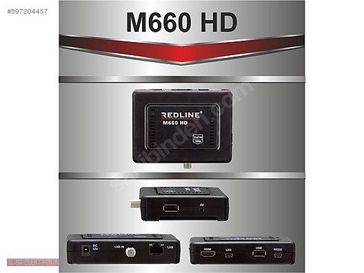 Redline M660 HD UYDU ALICISI İPTV ONLİNE TV+ WİFİ ANTENLİ RECEİV at