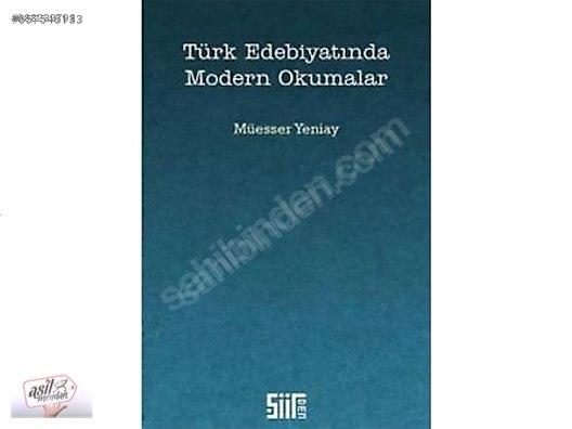 Türk Edebiyatında Modern Okumalar Kitap Deneme Romanları