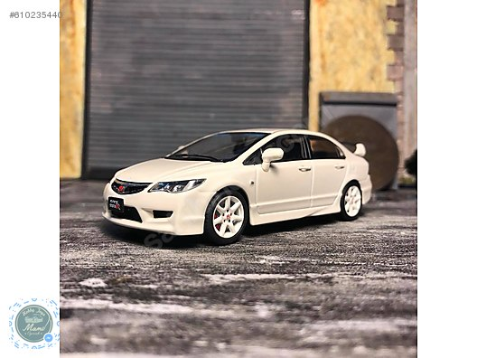 Honda Civic Type R Fd2 White 143 ölçek Ebbro Marka Diecast Model