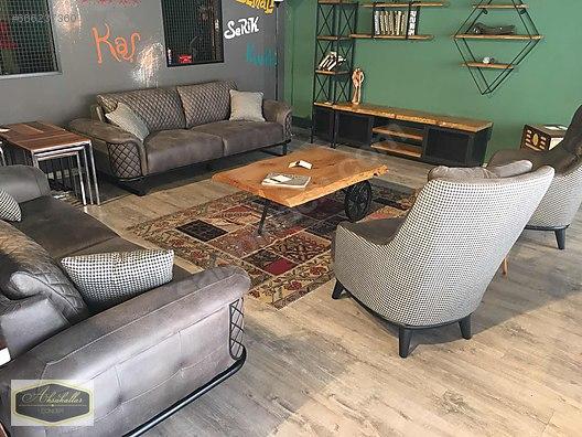 Living Room Furniture Metal Ayak Ahsap Kasa Acilir Koltuk
