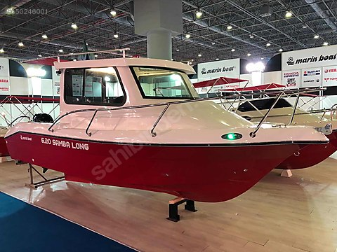 MARİNBOAT 6.20 SAMBA LONG TEKNE+MERCURY 60 HP MOTOR