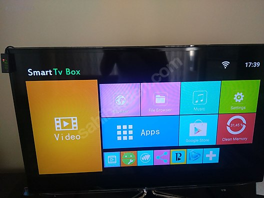 ANDROİD 8 1 IPTV ( 4GB/32GB )TV BOX at sahibinden com