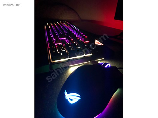 Asus ROG Strix Flare RGB Cherry MX Brown Switch Klavye Mause at ... 679873ca796cc