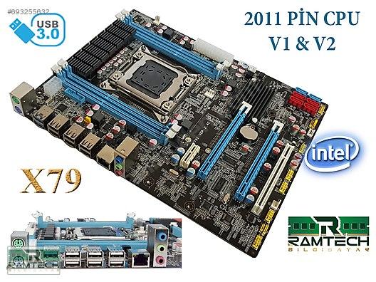 ATX YAPIDA SIFIR İNTEL CHİPSET X79 LGA2011 V1 & V2 XEON