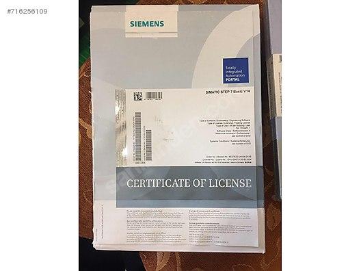 Siemens simatic step 7 v14 at sahibinden com - 716256109