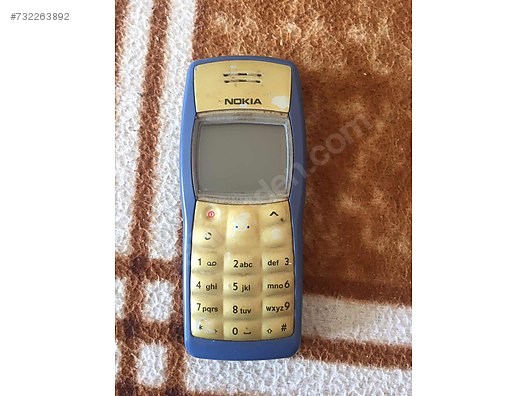 İkinci el Mavi Nokia 1100 Cep Telefonu sahibinden com'da