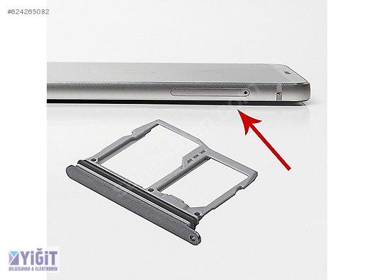 LG G6 H870,H871,H872,H873 ORJ SİM HAFIZA KART KAPAĞI FÜME at