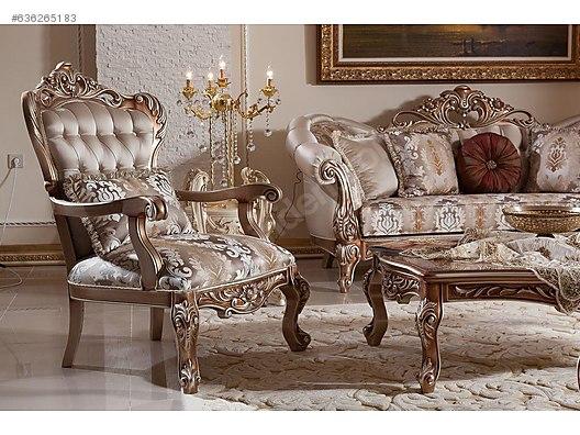 Living Room Furniture Avangart Koltuk Takimi 2 Uclu