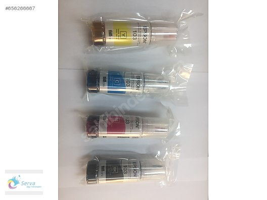 Ink / Epson 103 Orjinal Mürekkep (L3110/L3111/L3150/L3151) at