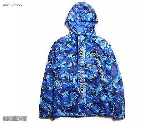 e2fb9d839 aape bathing camo 3m reflective reversible windbreaker jacket