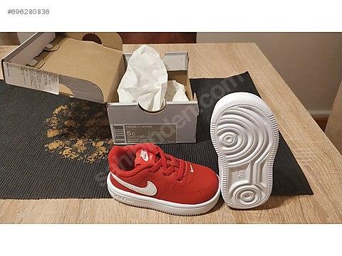 1 Sahibinden Air Force Bebek At Nike '18tdKırmızı Ayakkabısı BrQxoeEdCW