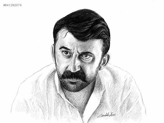 Karakalem Portre çizimi Kişiye özel Hediye El Işi Sanat
