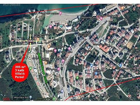 AKÇAKOCADA VİLLALIK 395 m² PARSEL - YAŞAR BEYE...
