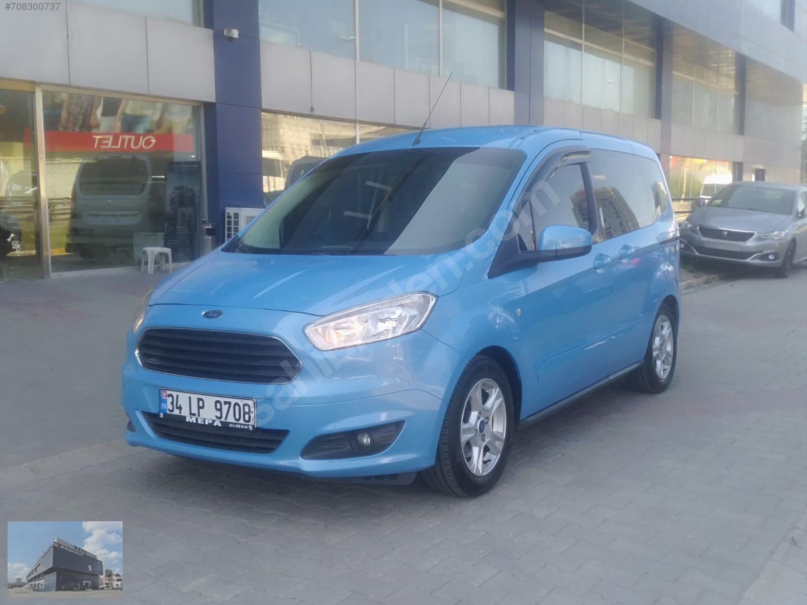 Ford Tourneo Courier  1.6 TDCi Deluxe  2013