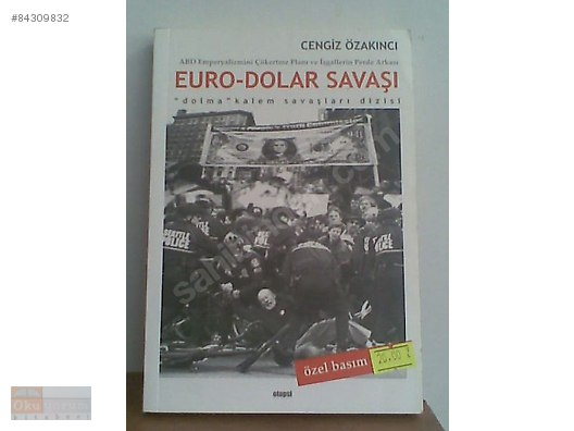 Euro Dolar Savaşi 1 Baski 2005 Cengiz özakıncı Otopsi Yayın