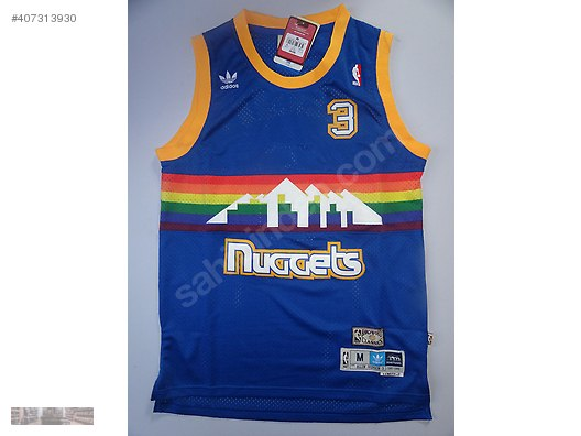 best sneakers 9316c 19690 nba adidas denver nuggets rainbow allen iverson 3 basketball ...