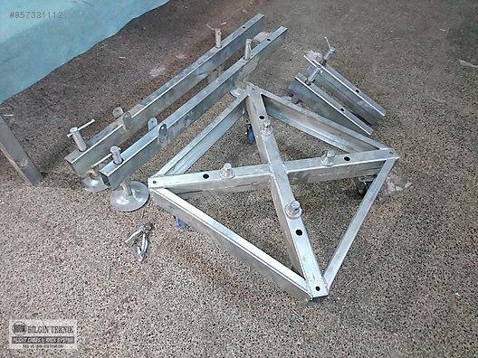taban 30x30 truss ve 40x40 truss