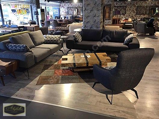 Living Room Furniture Metal Ayak Ahsap Iskelet Koltuk