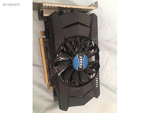 MSI R7 250 2GB 128Bit - AMD Ekran Kartı İlanları sahibinden