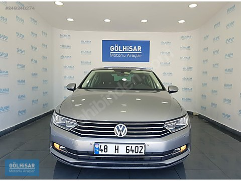 GÖLHİSAR'dan 2017 VW.PASSAT 1.6 TDI BMT Comfortline...