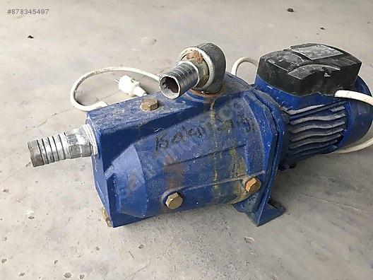 hp 0 75 watt santrifuj su motoru pompa