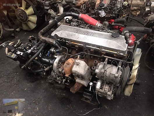 i̇suzu nqr 4he1 turbo orji̇nal motor bi̇r oto ankara