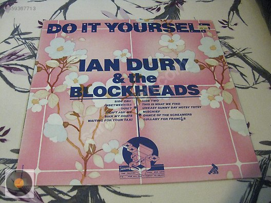 Electronic ian dury the blockheads do it yourself at sahibinden secondhand and new products music albums lp records electronic solutioingenieria Gallery