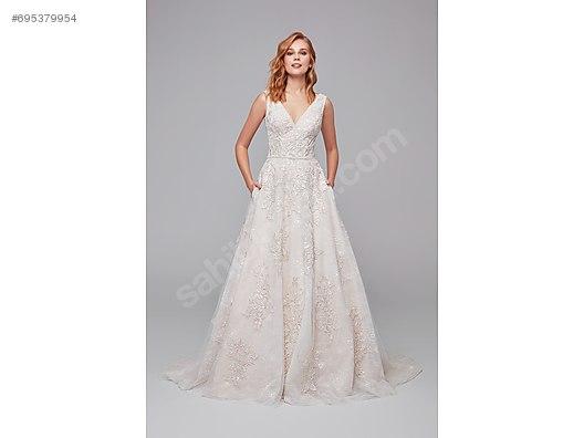 d7d64da51c82e SIFIR OLEG CASSINI Dantel A Kesim Askılı Gelinlik - Gelinlik ve Evlilik  Giyim İhtiyaçlarınız sahibinden.com'da - 695379954