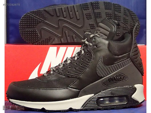 78d49f2d341 nike air max 90 winterized waterproof boot black white 684714