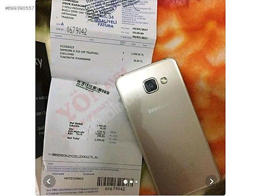 Samsung Galaxy A3 2016 Samsung A3 2016 Gold Kutulu