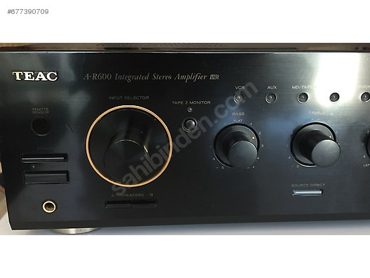 Teac / TEAC AR-600 INTEGRATED STEREO AMPLİFİER İLK