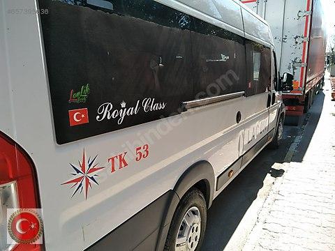 TK 53 DEN ŞOFÖRSÜZ KİRALIK DUCATOLAR 16+1 MİNİBÜSLER.