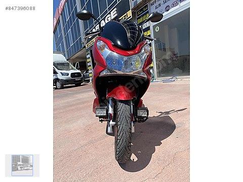 Hasan Usludan Honda PcX çok temiz