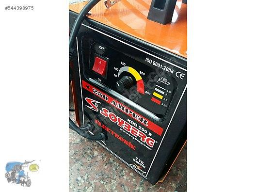 250 Amper Kaynak Makinasi YERL RN At Sahibinden