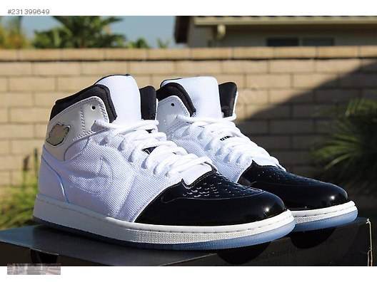 nike air jordan 1 retro 95 txt white black dark concord 616369 d322880bd