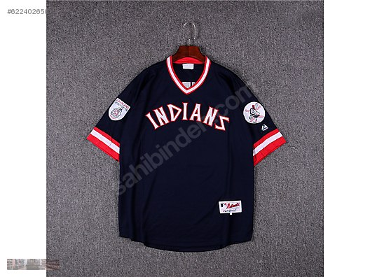 quality design cdb17 92eeb MAJESTIC INDIANS CLEVELAND SPIRIT OF 76 SPORTS LINDOR JERSEY ...