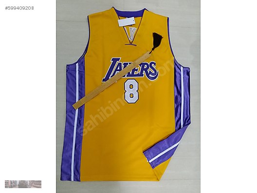 b335fc668758 CHAMPION NBA LAKERS KOBE BRYANT 8 BASKETBALL JERSEY ...