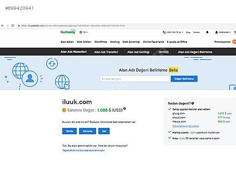 ba1eaab573c96 İkinci El ve Sıfır Alışveriş / Bilgisayar / Domain, Hosting & Yazılım /  Domain (