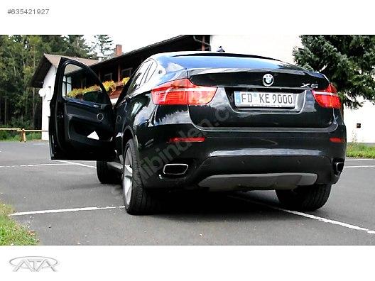 Cars Suvs Exhaust Bmw X6 Serisi 50i Egzos Ucu Seti E71