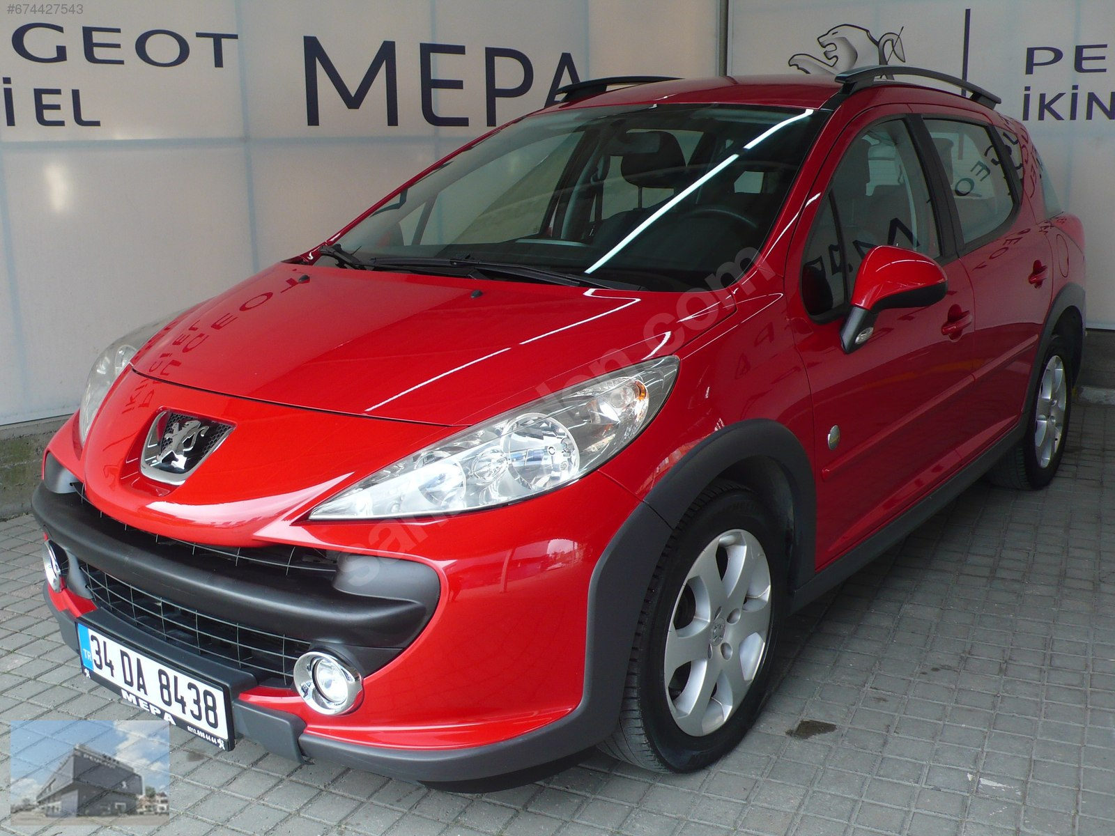 Peugeot 207 1.6 HDi Outdoor 2009